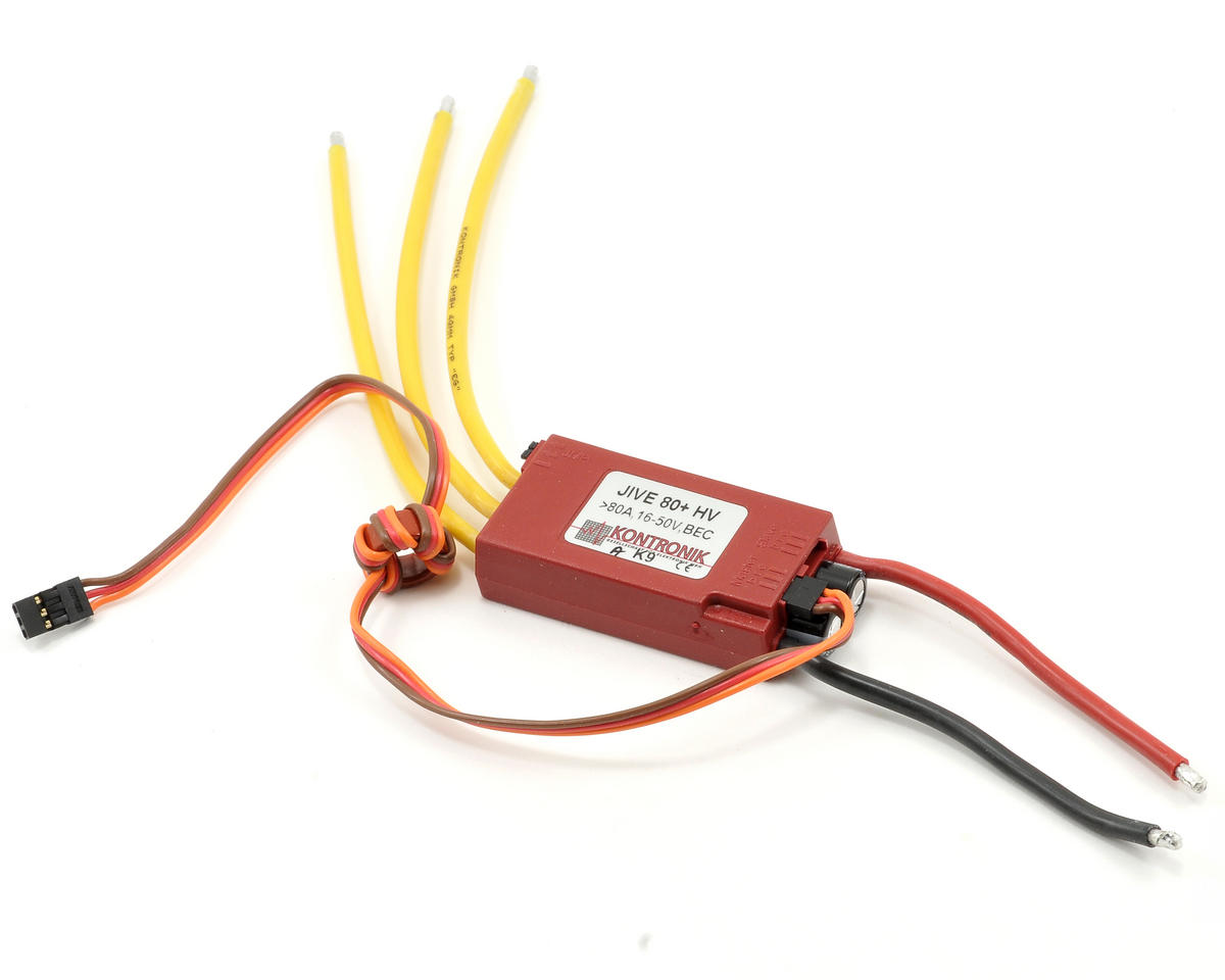 Kontronik Jive 80+ HV Brushless ESC (V9)