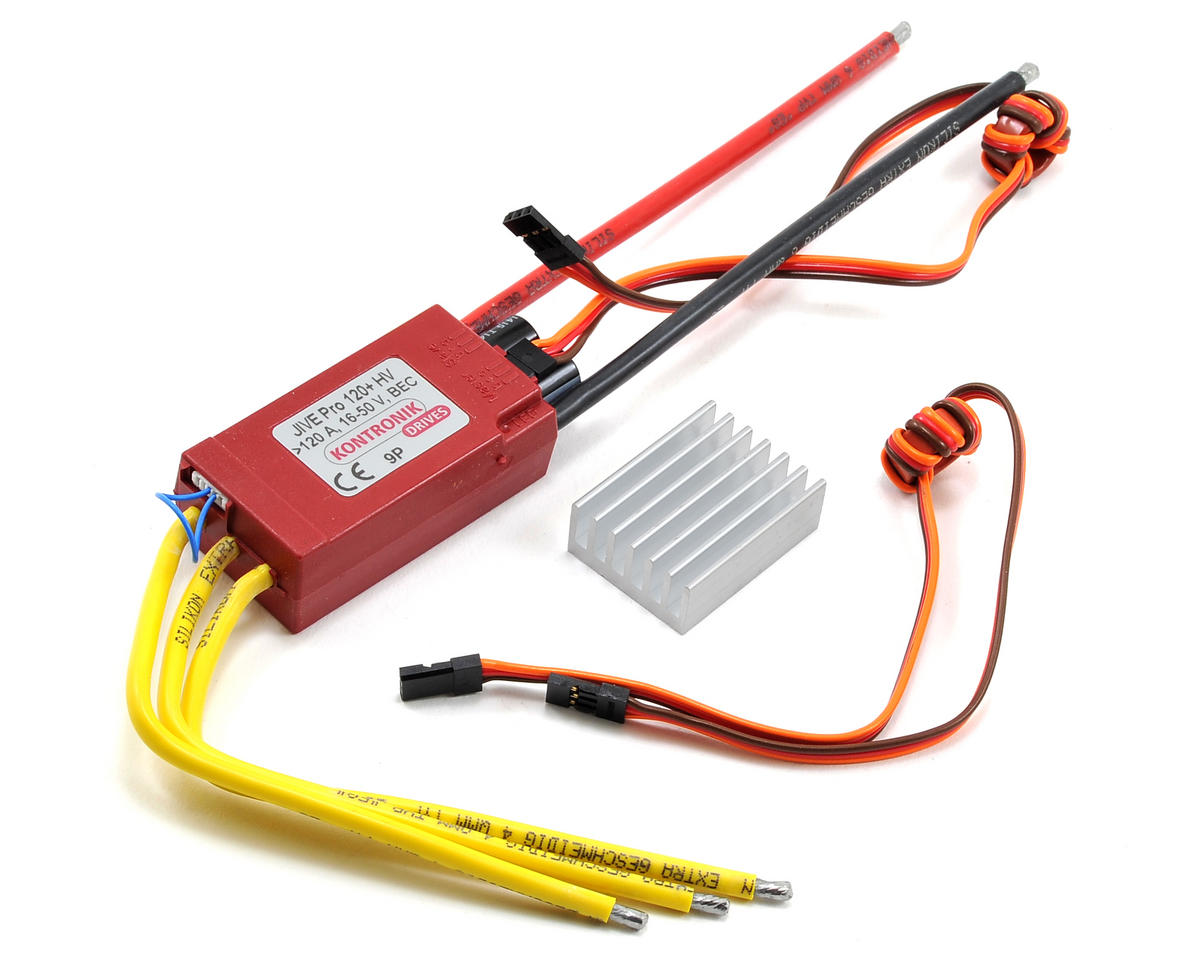Kontronik Jive Pro 120+ HV Brushless ESC