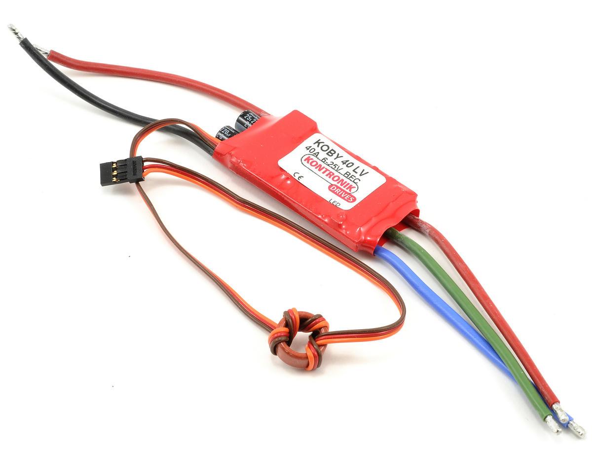 Kontronik Koby 40 LV Brushless ESC