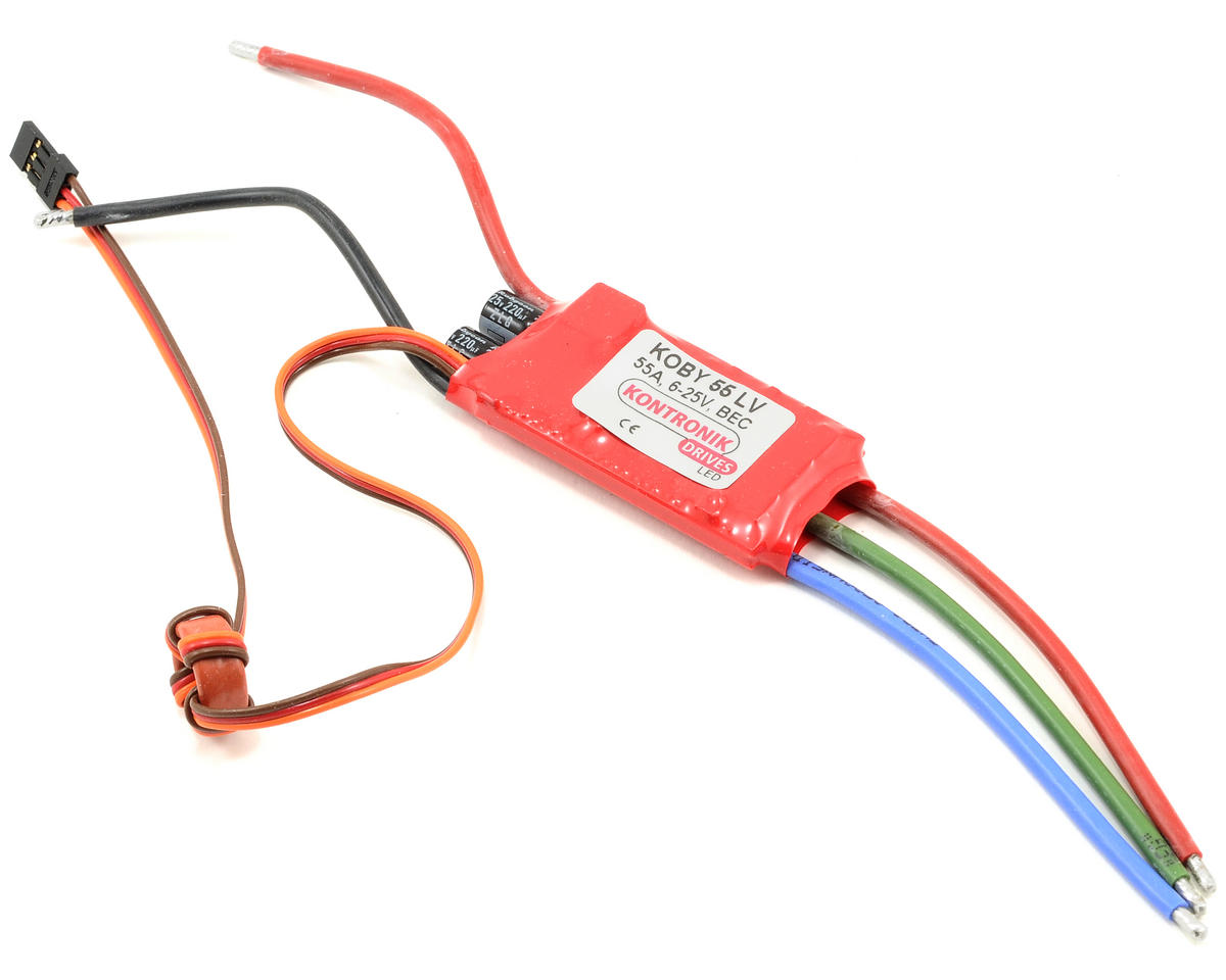 Koby 55 LV Brushless ESC