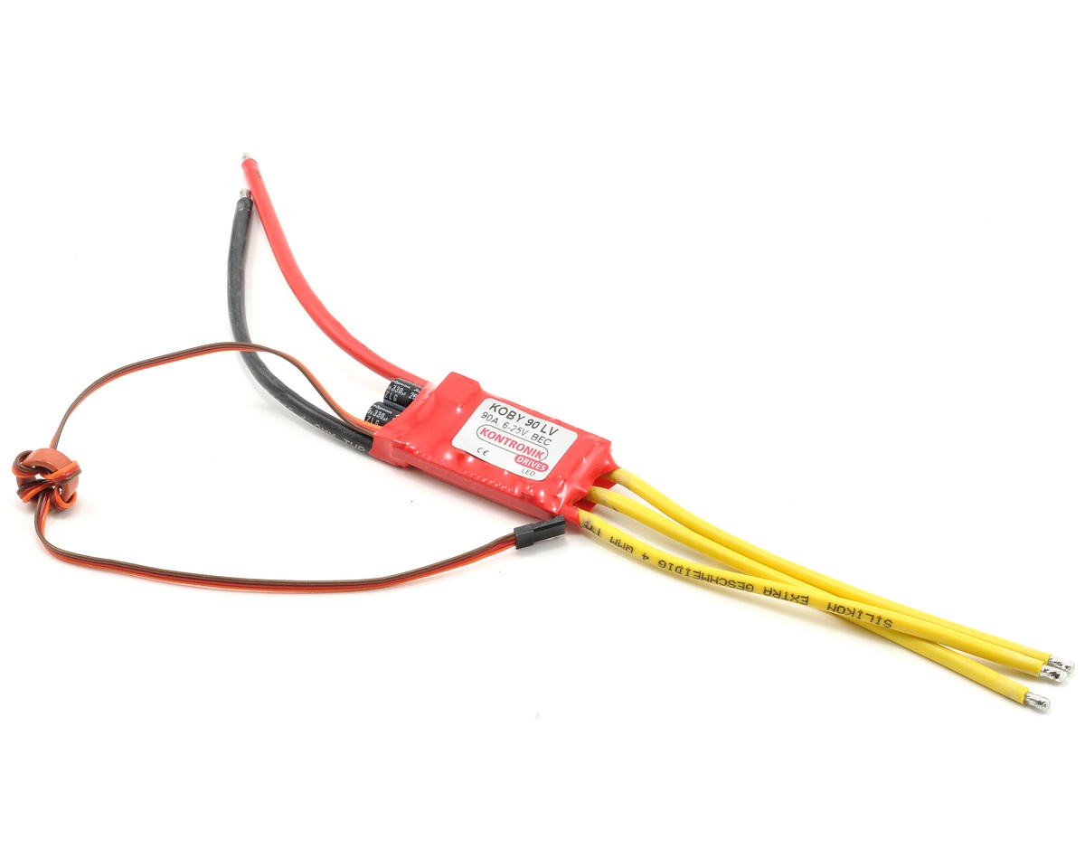 Koby 90 LV Brushless ESC by Kontronik