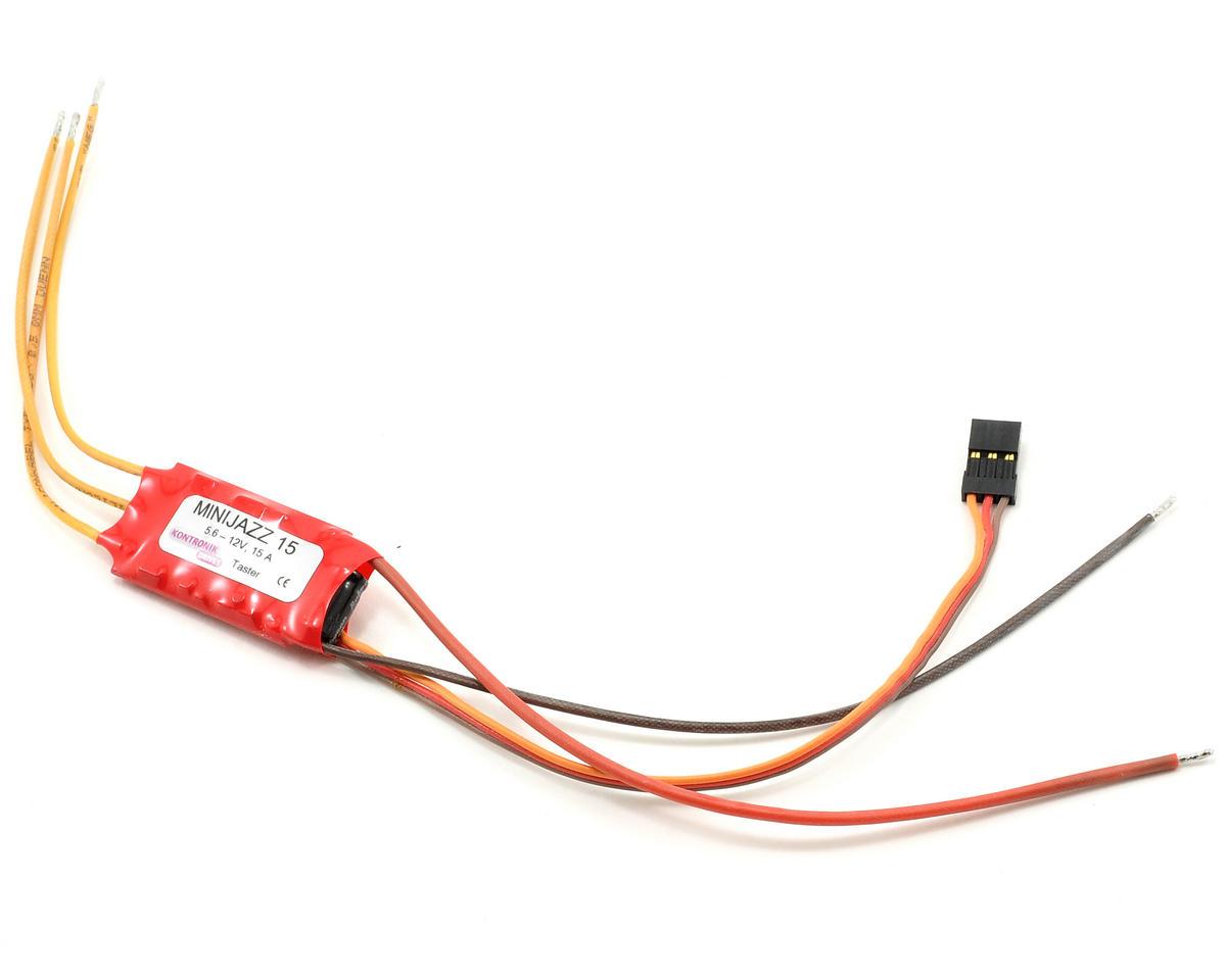 Kontronik Mini Jazz 15 Brushless ESC