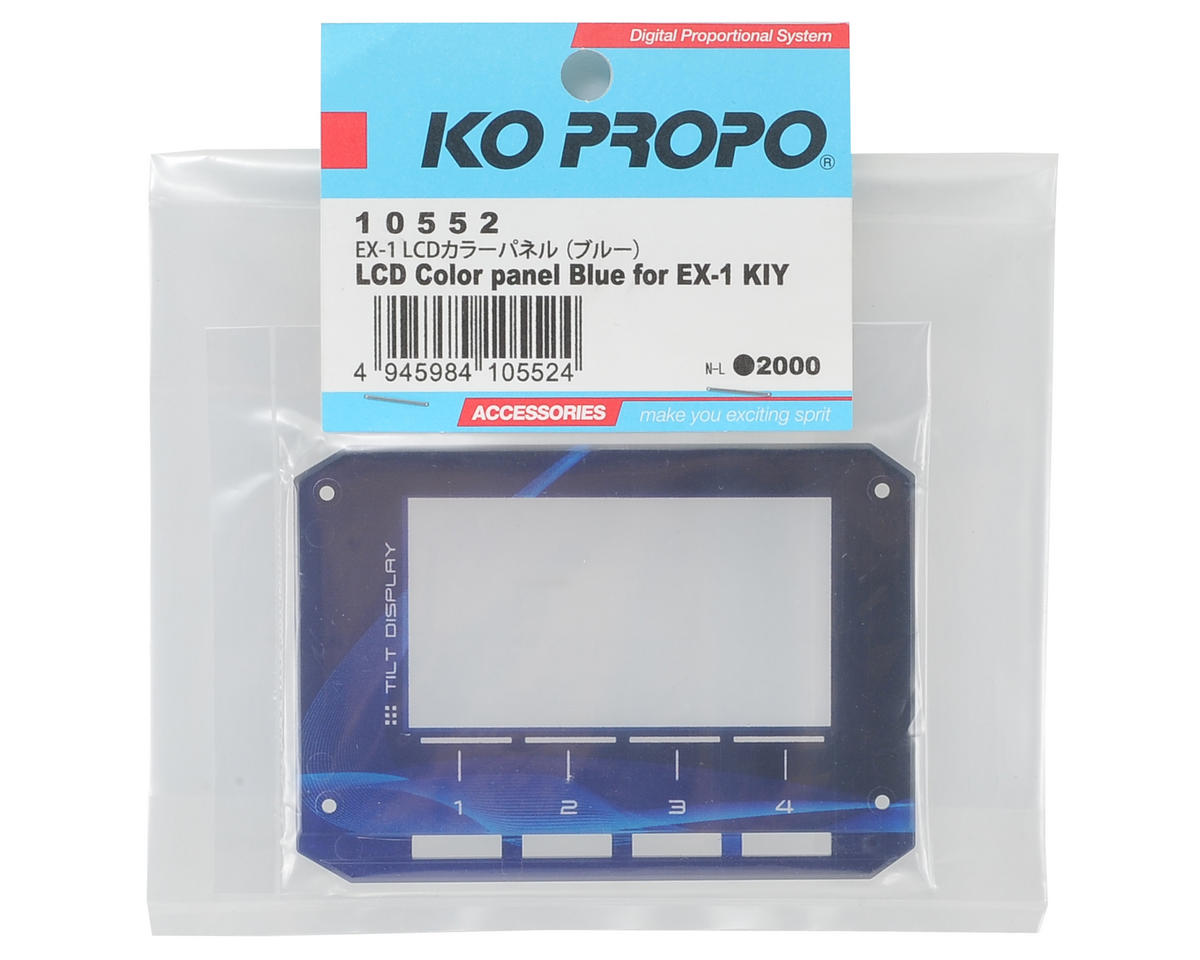 EX-1 KIY LCD Color Panel (Blue) by KO Propo