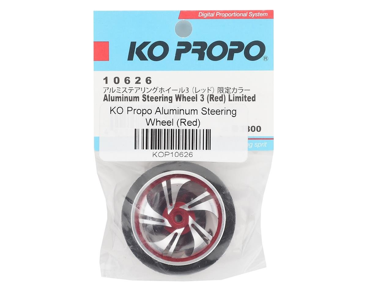 KO Propo Aluminum Steering Wheel (Red)
