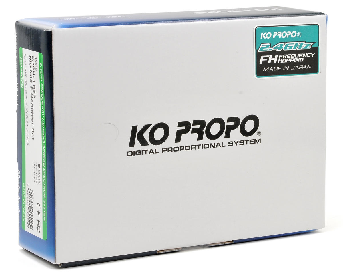 KO Propo RF-903FH 2.4GHz FH-SS Transmitter Module w/KR-411FH Receiver (EX-10 Helios)