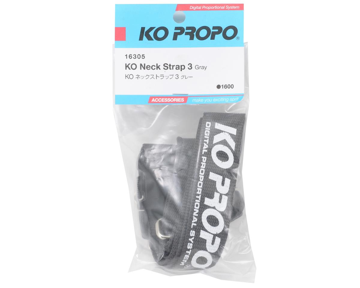 Neck Strap (Gray) by KO Propo