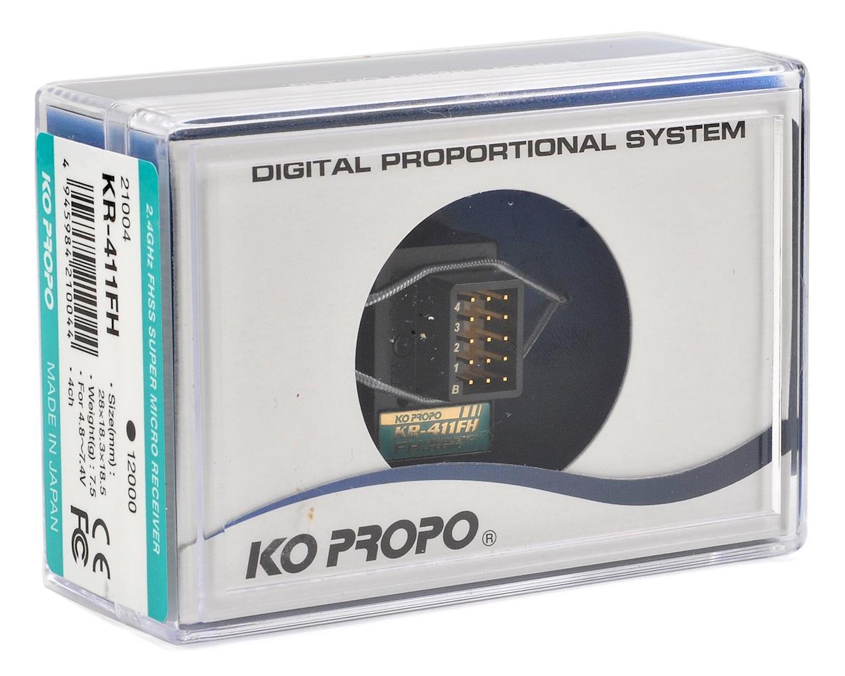 KR-411FH 2.4GHz FH-SS Receiver by KO Propo