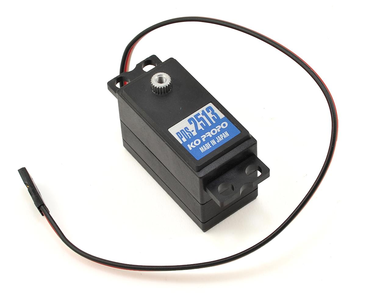 "KO Propo PDS-2513 ""Response"" Low Profile Metal Gear Servo"