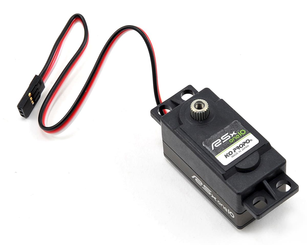 "KO Propo ""RSx-one10"" Low Profile Servo (LiPo Compatible)"