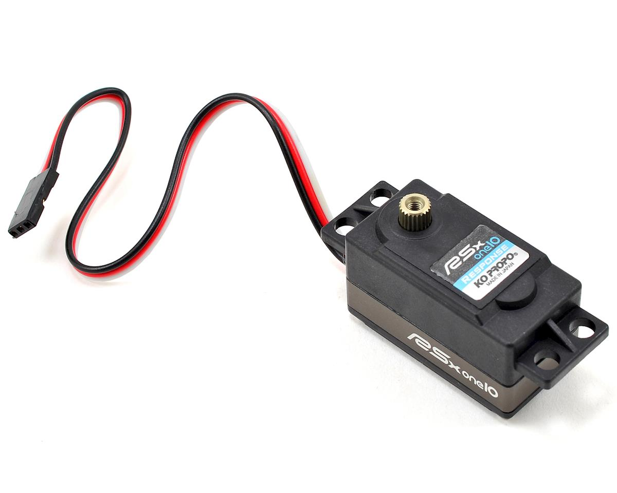 "KO Propo 30105 ""RSx-one10 Response"" Low Profile Digital Servo (High Voltage)"