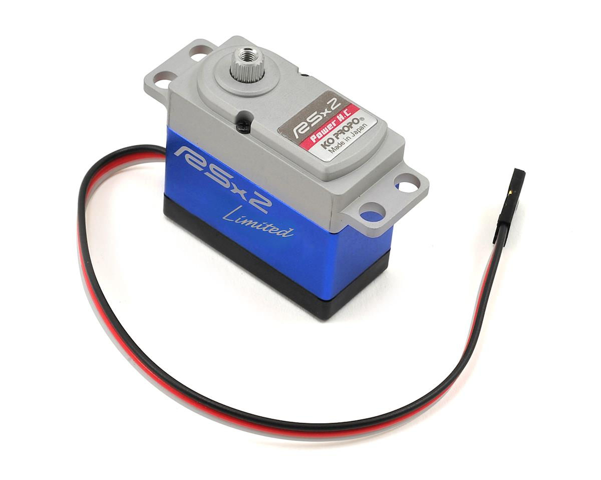 KO Propo RSx2 Power HC Limited High Torque High Voltage Servo (Blue)