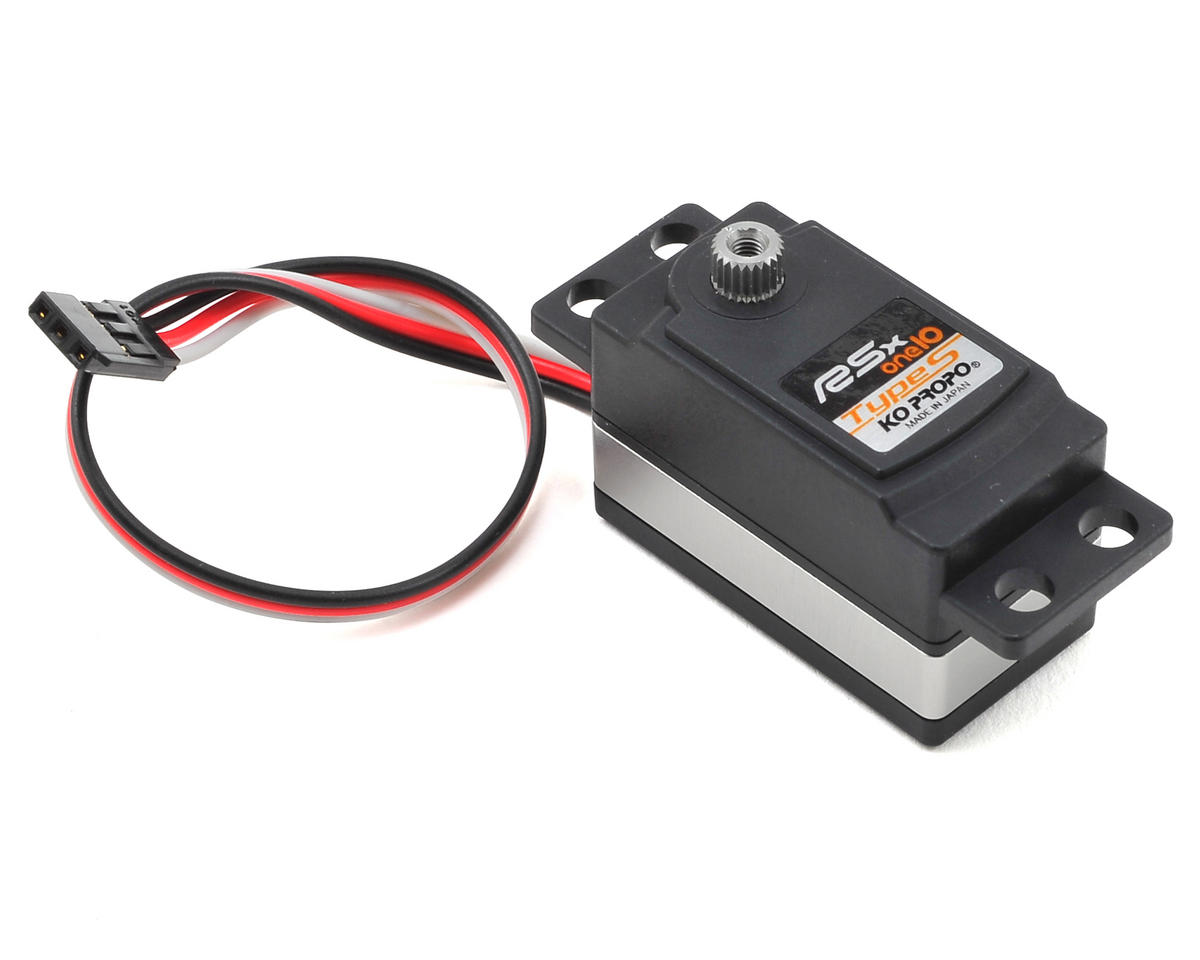 RSx-one10 Type-S Low Profile Digital Servo (High Voltage)