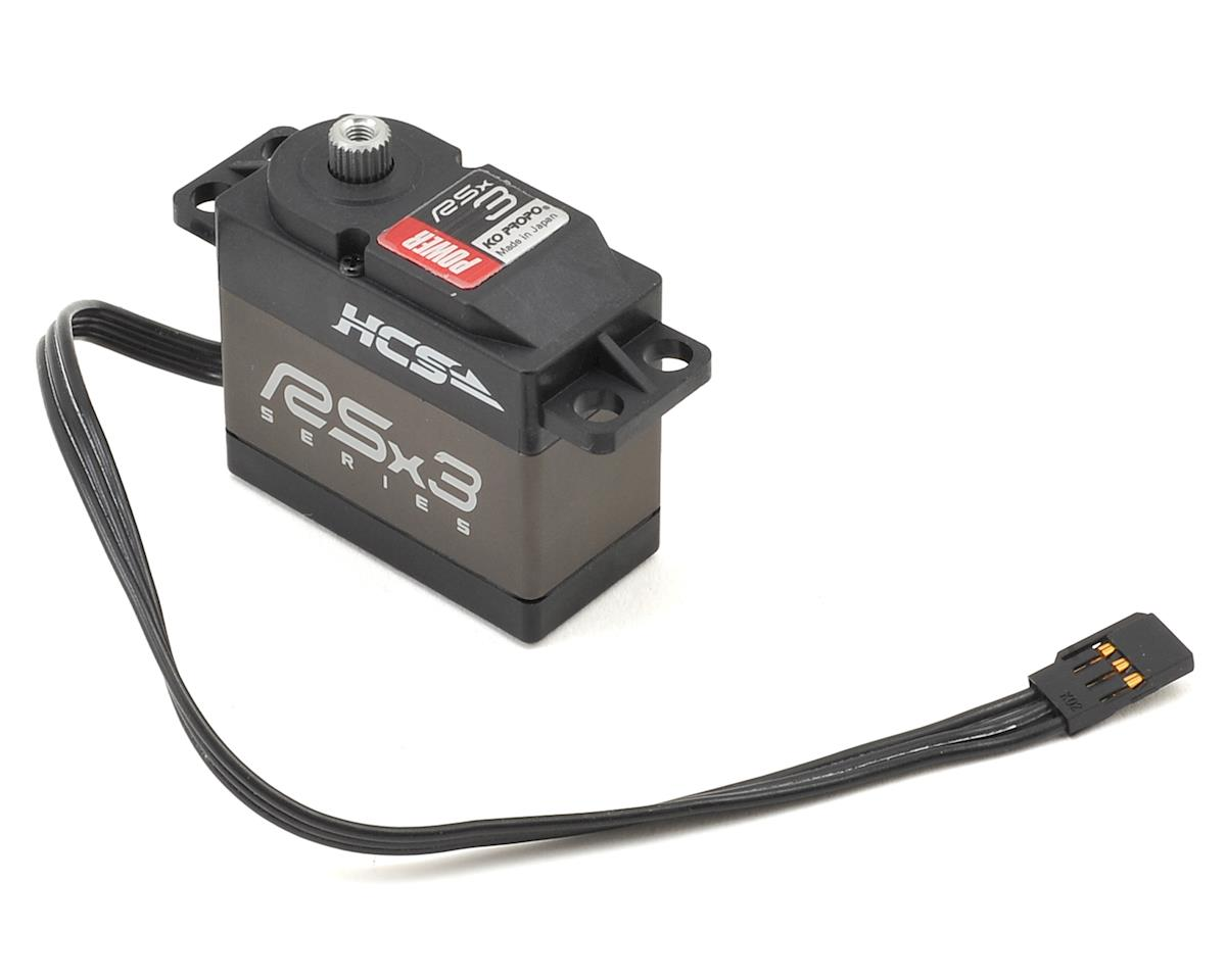RSx3 Power High Torque Digital Servo (High Voltage)