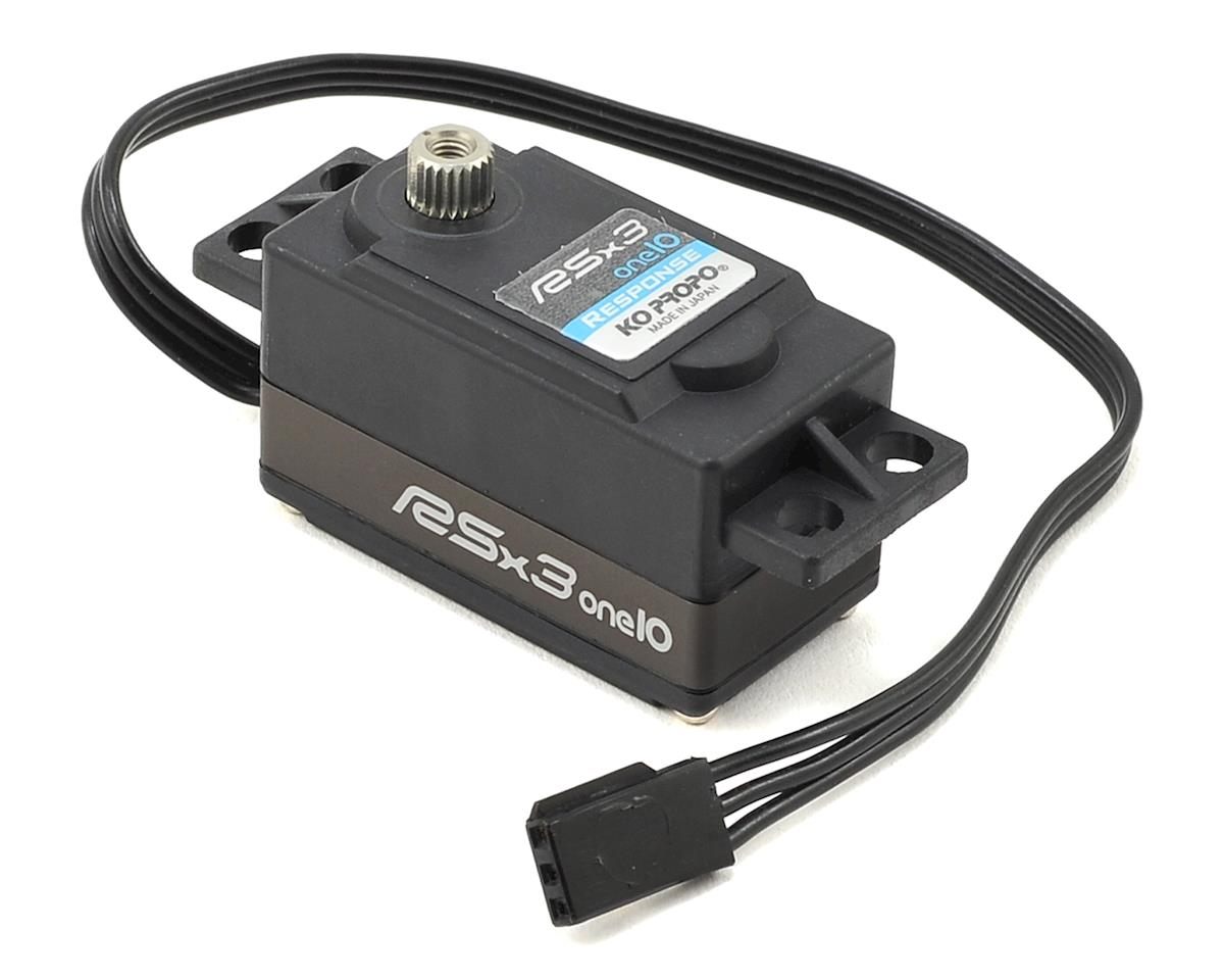 """RSx3-one10 Response"" Low Profile High Speed Digital Servo"