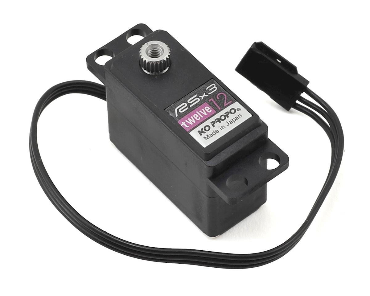 KO Propo RSx3-12 Digital Mini Servo (World Spec)