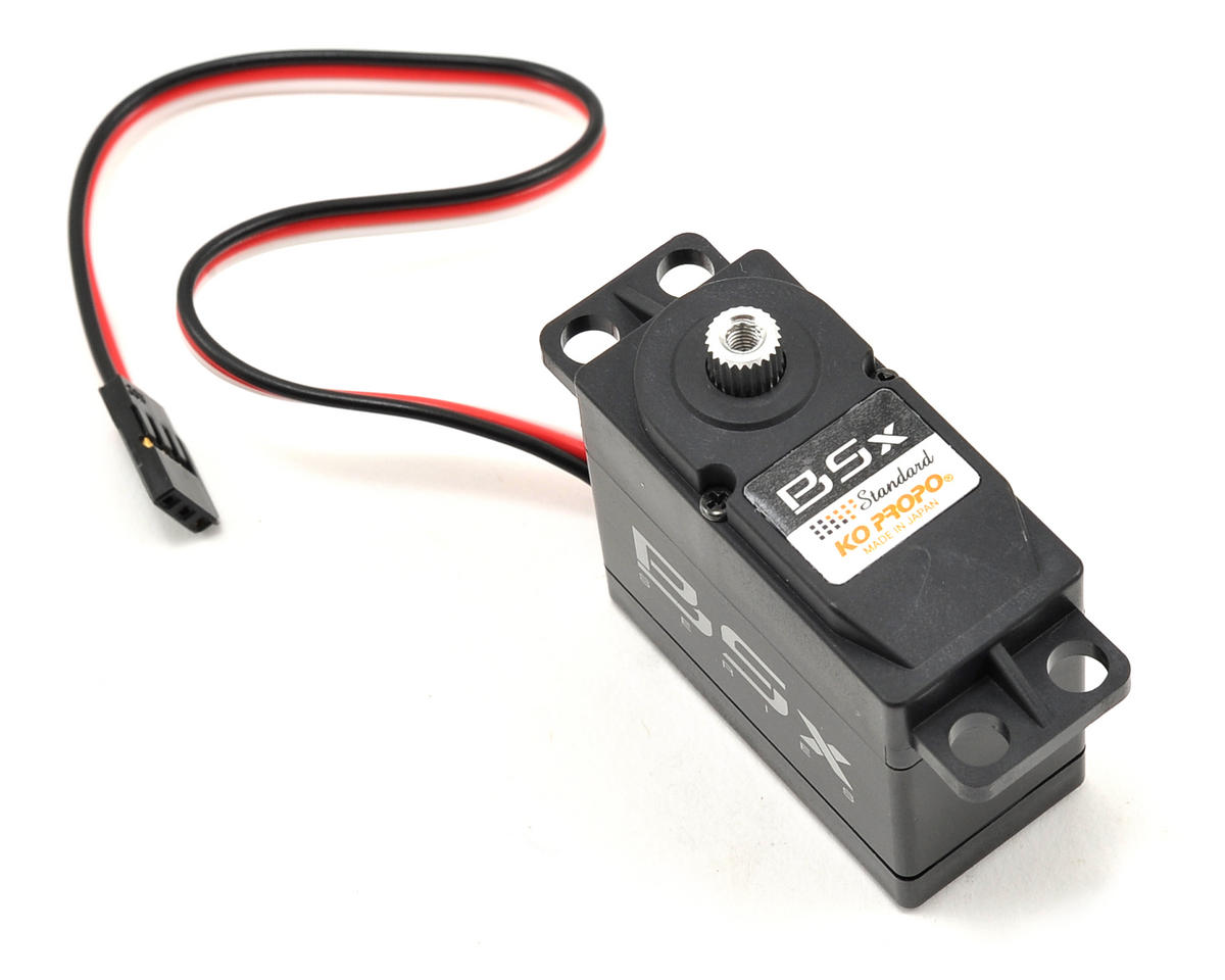 "KO Propo ""BSx Standard"" Brushless Digital Steering Servo (Li-Poly Compatible)"