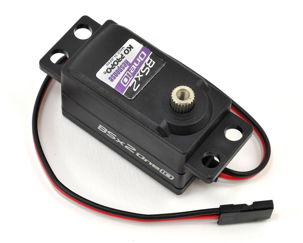 "30205 ""BSx2-one10 Response"" Low Profile Digital Servo by KO Propo"