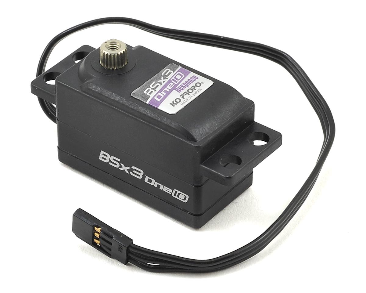 "KO Propo ""BSx3-one10 Response"" Low Profile High Speed Brushless Servo"