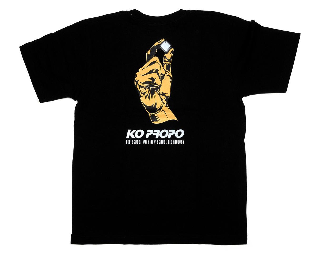 KO Propo Black T-Shirt (Medium)