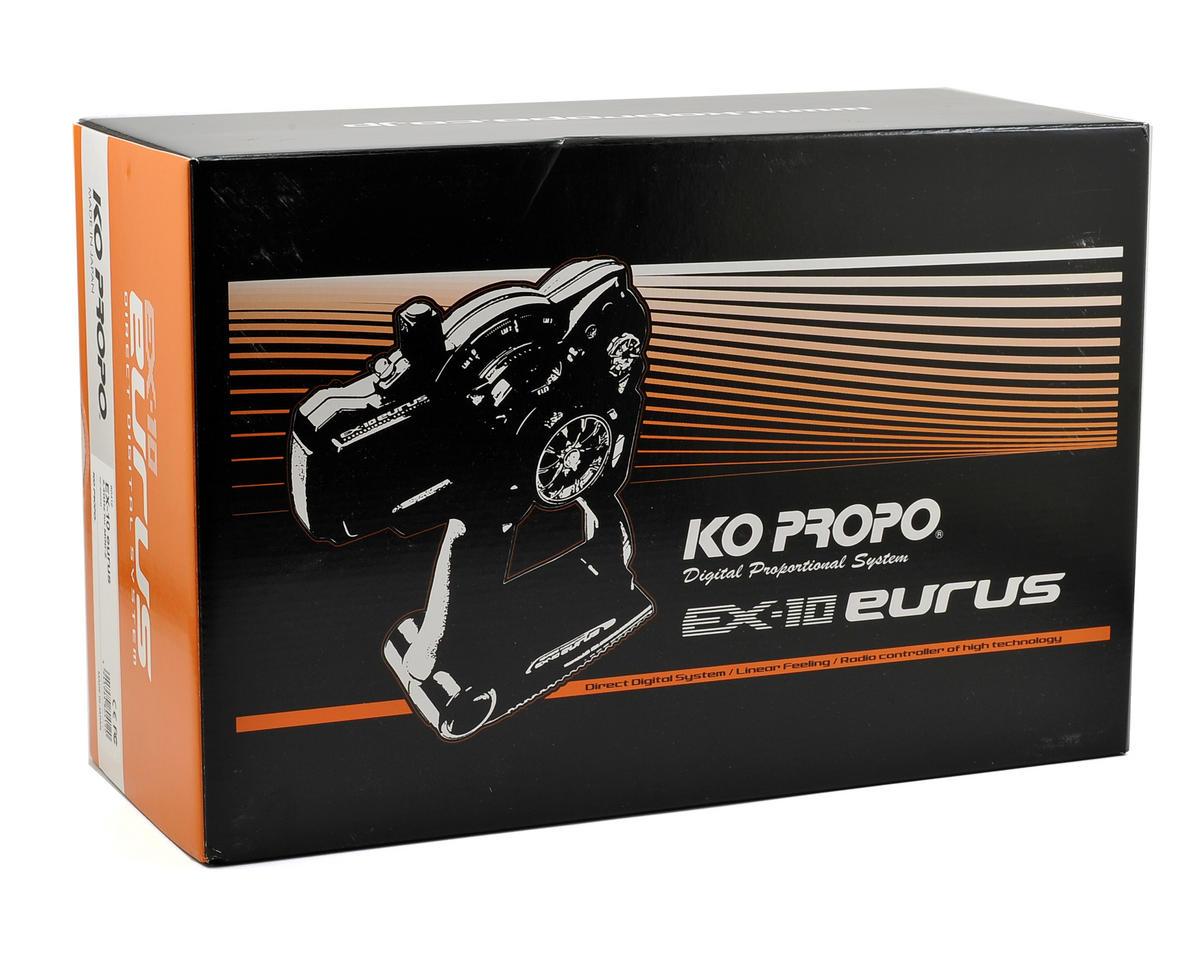 KO Propo EX-10 Eurus 2.4GHz Transmitter w/Mini-Z Module