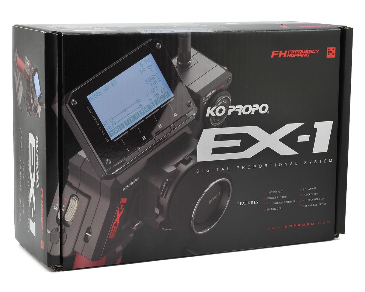 KO Propo EX-1 KIY V2 Concept 2.4GHz FHSS Radio System w/KR-411FH Micro Receiver