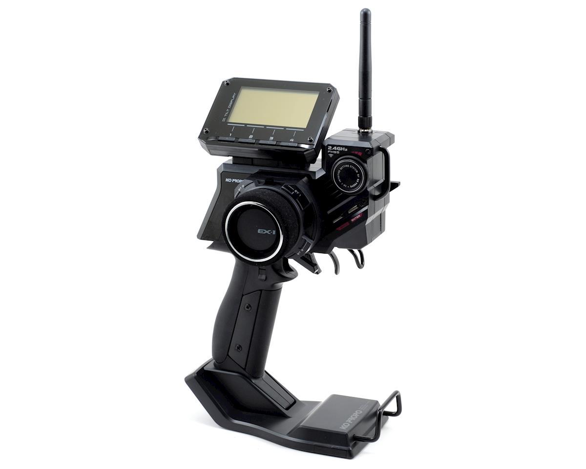 KO Propo EX-1 KIY V3 Concept 2.4GHz FHSS Radio System w/KR-413FH Micro Receiver