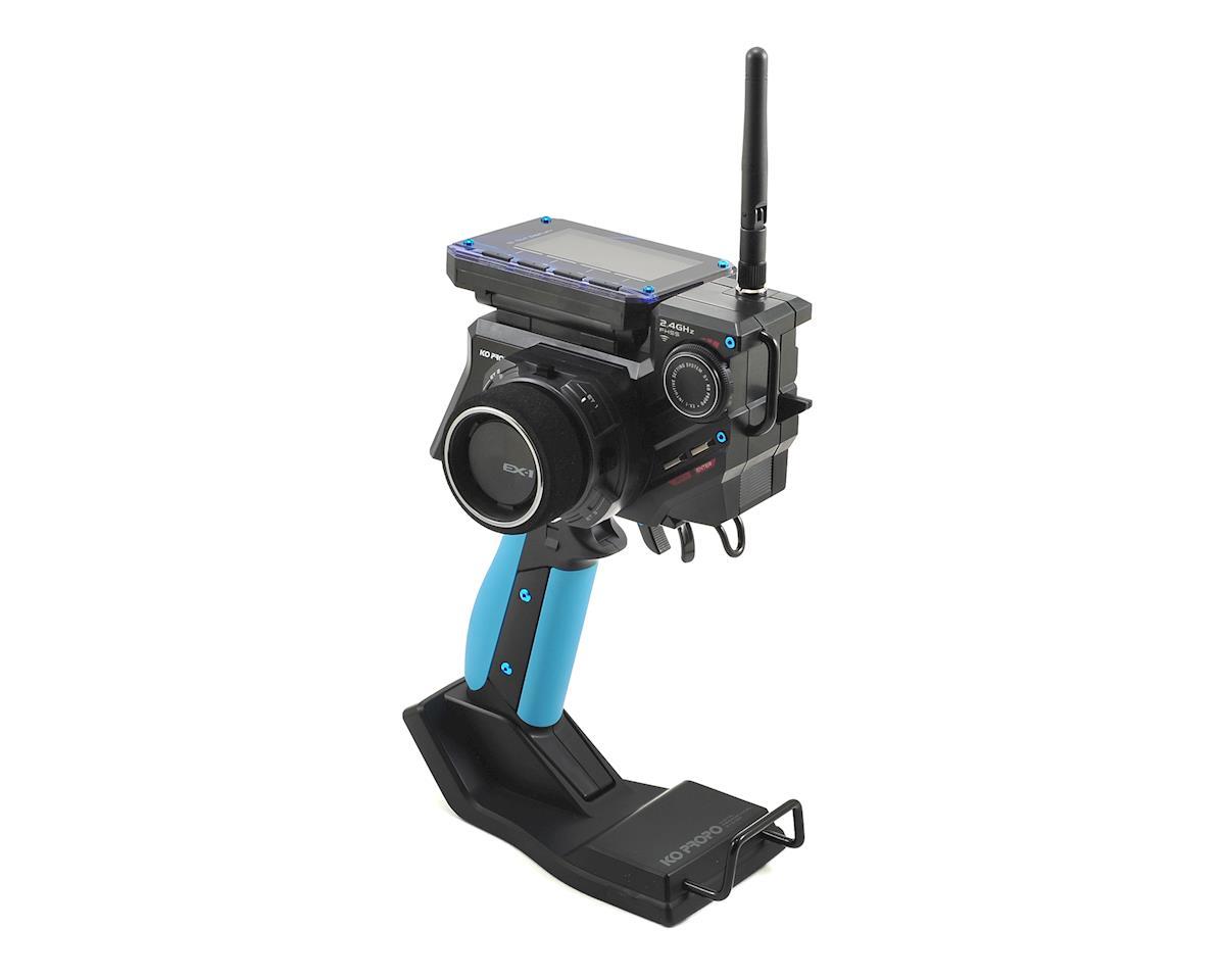 KO Propo EX-1 KIY V3 Limited Edition 2.4GHz FHSS Radio System (Blue)