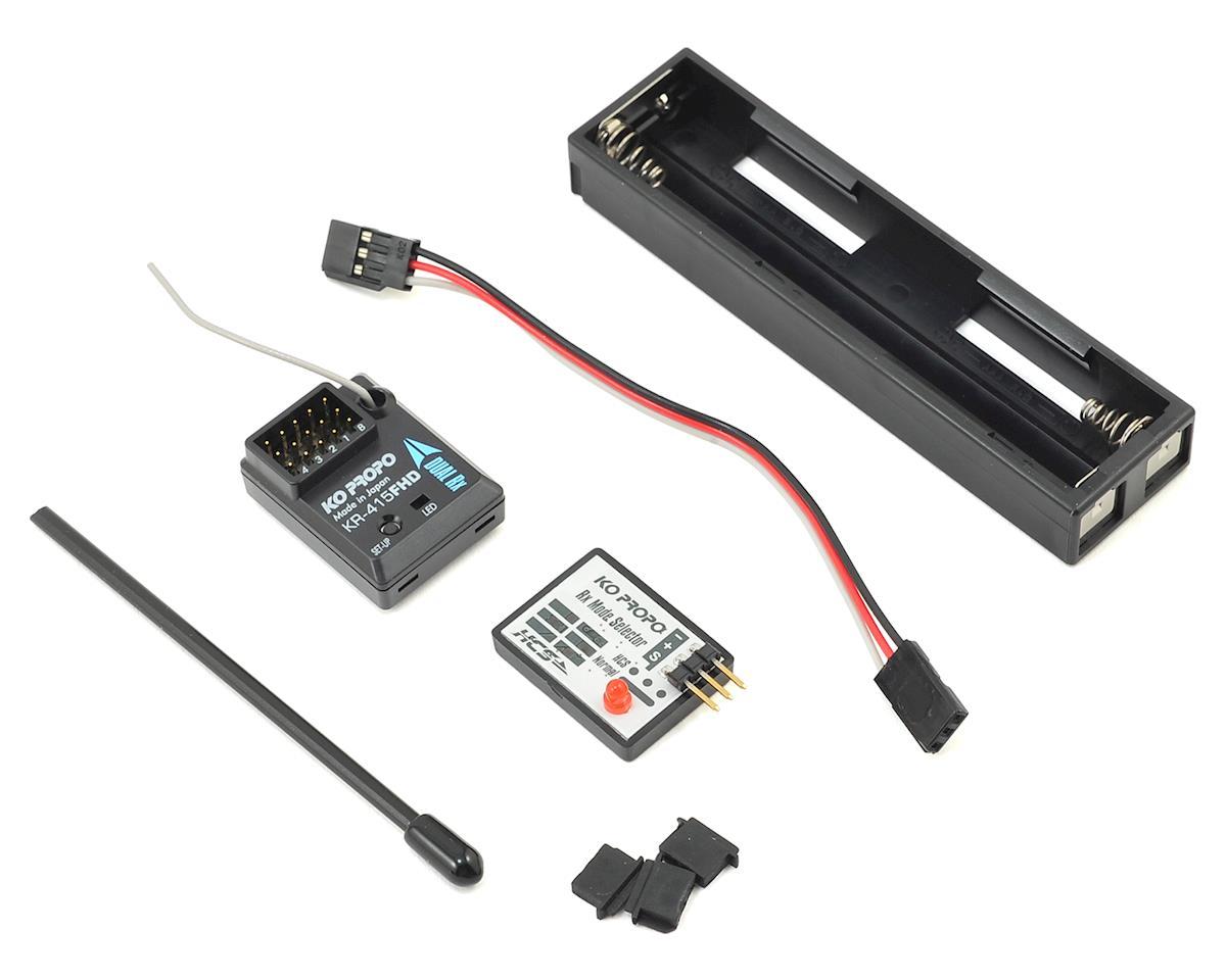 KO Propo EX-RR Limited 2.4GHz Radio System w/KR-415FHD