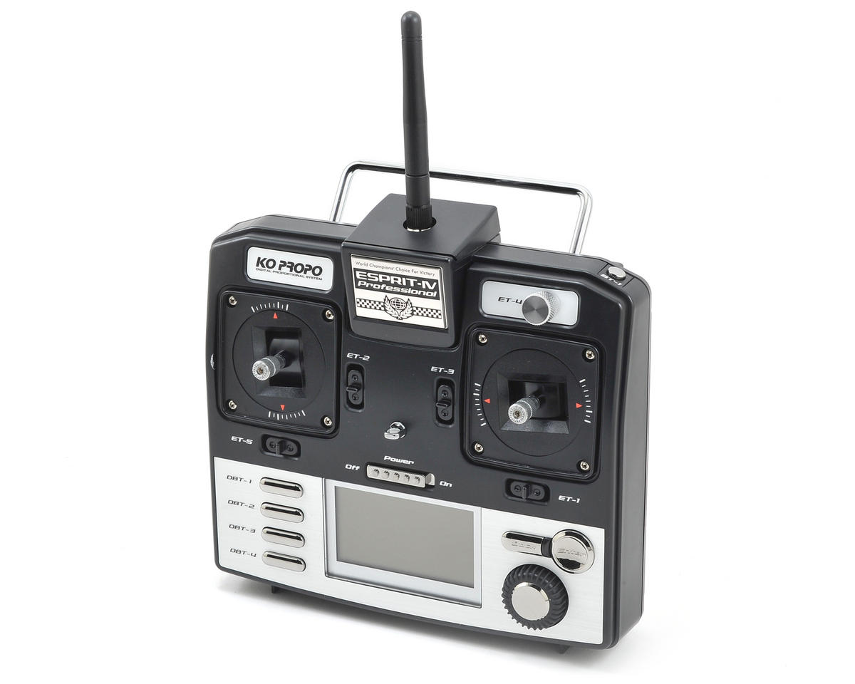 KO Propo Esprit IV Professional 2.4GHz FHSS Radio System (No Servos)