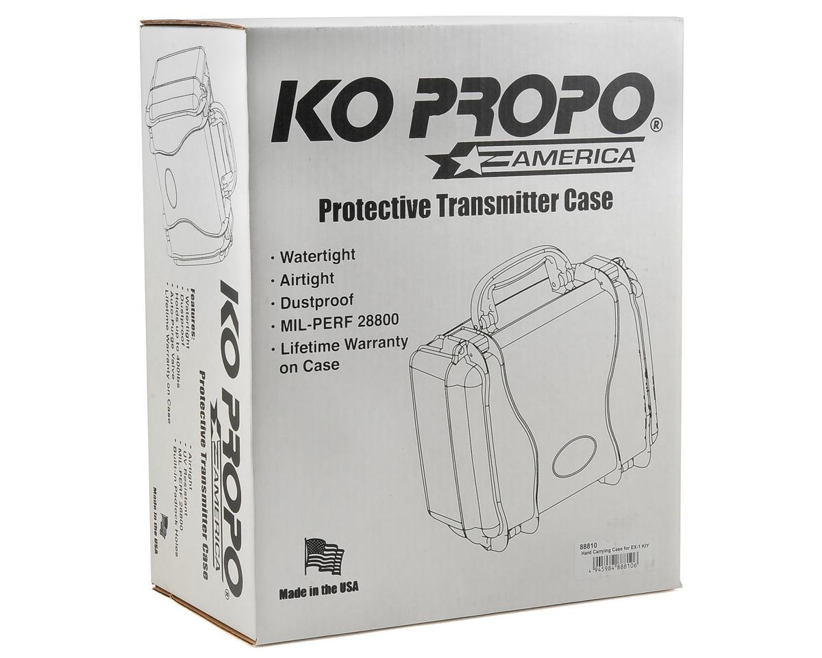 KO Propo EX-1 KIY Transmitter Hard Case