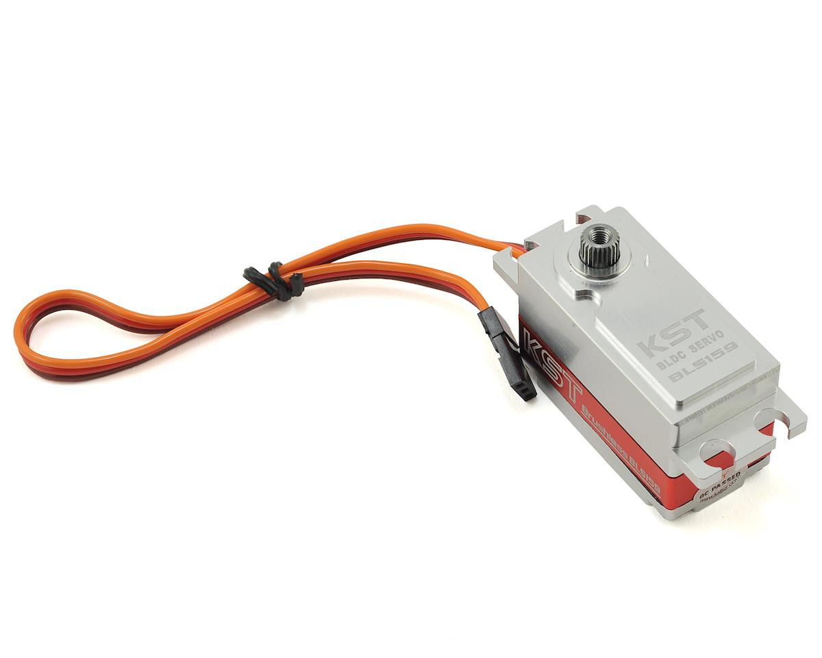 BLS159 Low Profile Brushless Digital Metal Gear Servo by KST