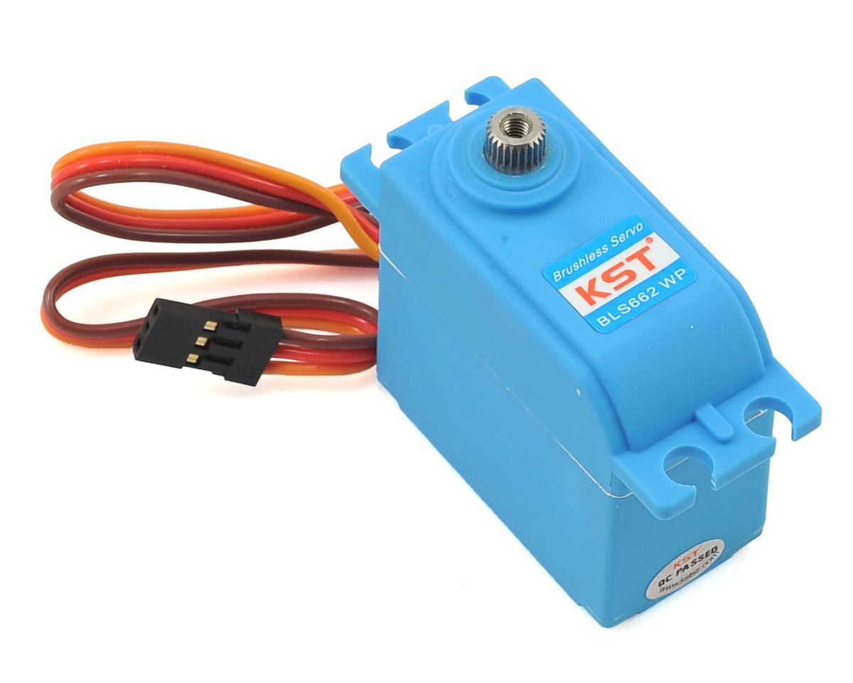 BLS662 Waterproof Brushless Standard Digital Metal Gear Servo by KST