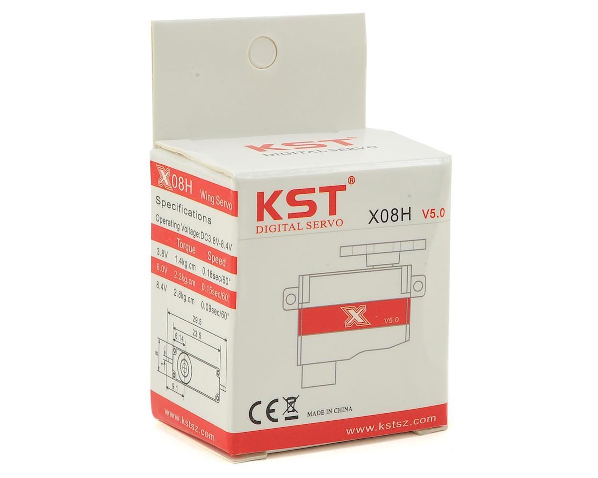 KST X08 V5 Micro Digital Metal Gear Servo (Horizontal Mount)