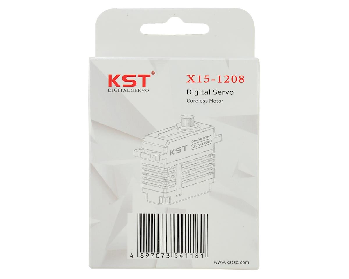 KST X15-1208 Mini Digital Metal Gear Servo