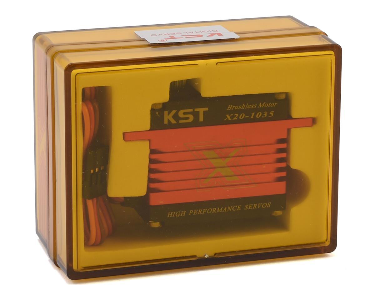 KST X20-1035 Tail Brushless Digital Metal Gear Servo