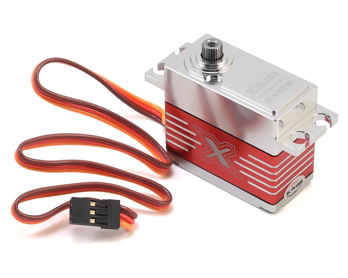KST X20-2208 Cyclic Brushless Digital Metal Gear Servo