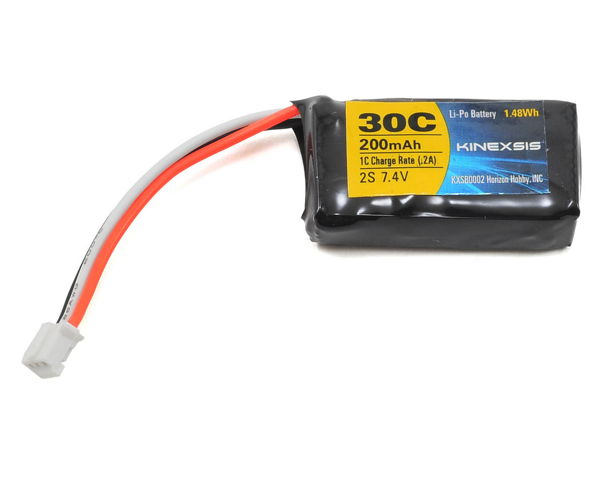 Kinexsis UMX Micro 2S 30C LiPo Flight Battery Pack (7.4V/200mAh)