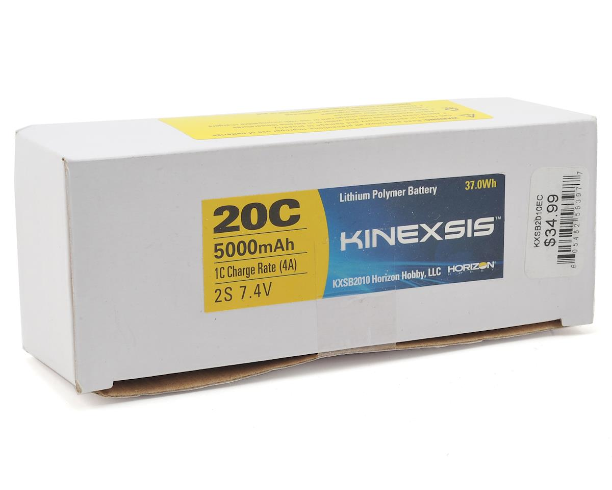 Kinexsis 2S LiPo 20C Hard Case Battery Pack w/EC3 (7.4V/5000mAh)