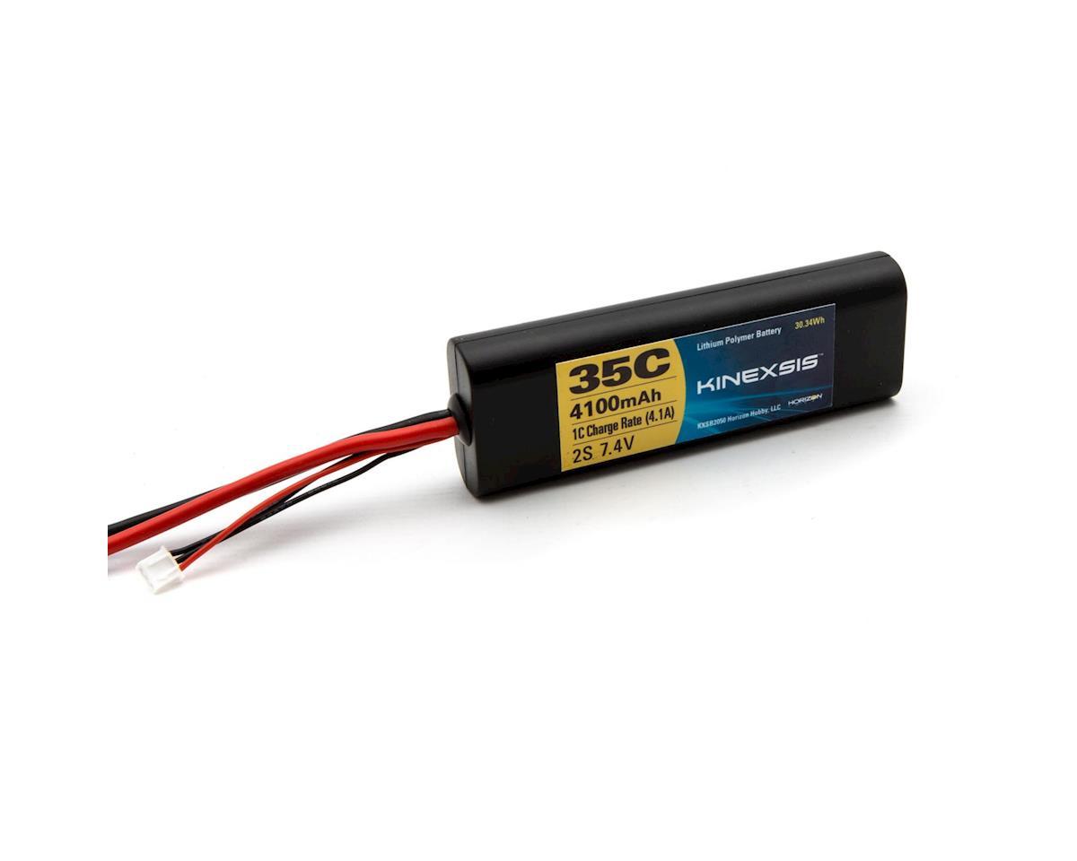 7.4V 4100mAh 2S 35C LiPo Hard Case: TRA