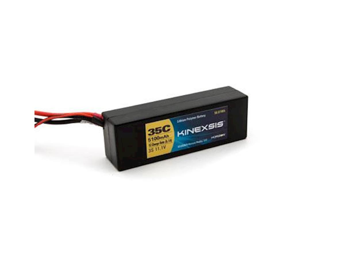 11.1V 5100mAh 3S 35C LiPo Hard Case: EC3