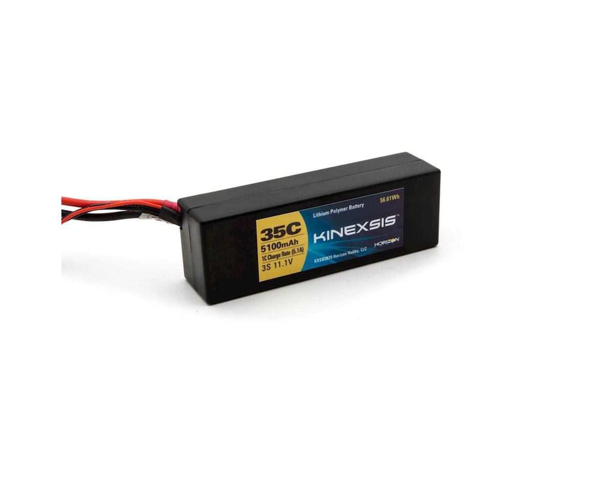 Kinexsis 11.1V 5100mAh 3S 35C LiPo Hard Case: TRA