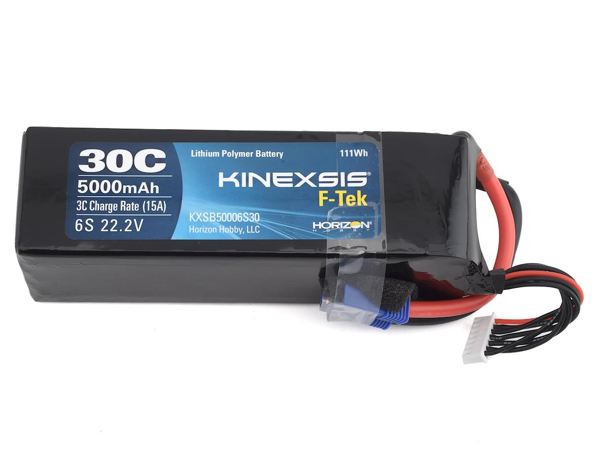 Kinexsis F-Tek 6S 30C LiPo Battery w/EC5 (22.2V/5000mAh) (E-flite HAVOC Xe)
