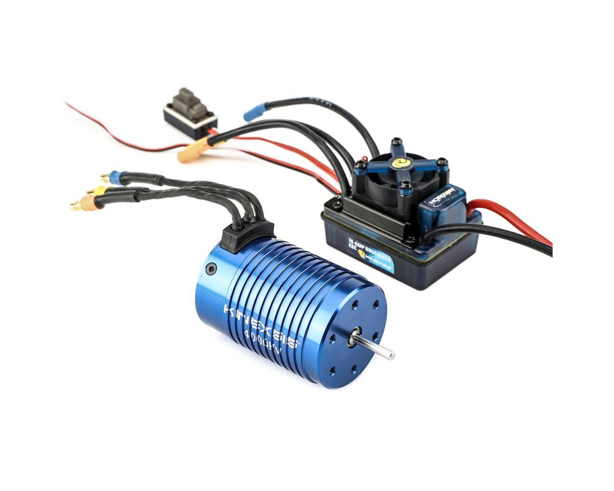 1/10 4-Pole 4000Kv ESC/Motor Combo by Kinexsis