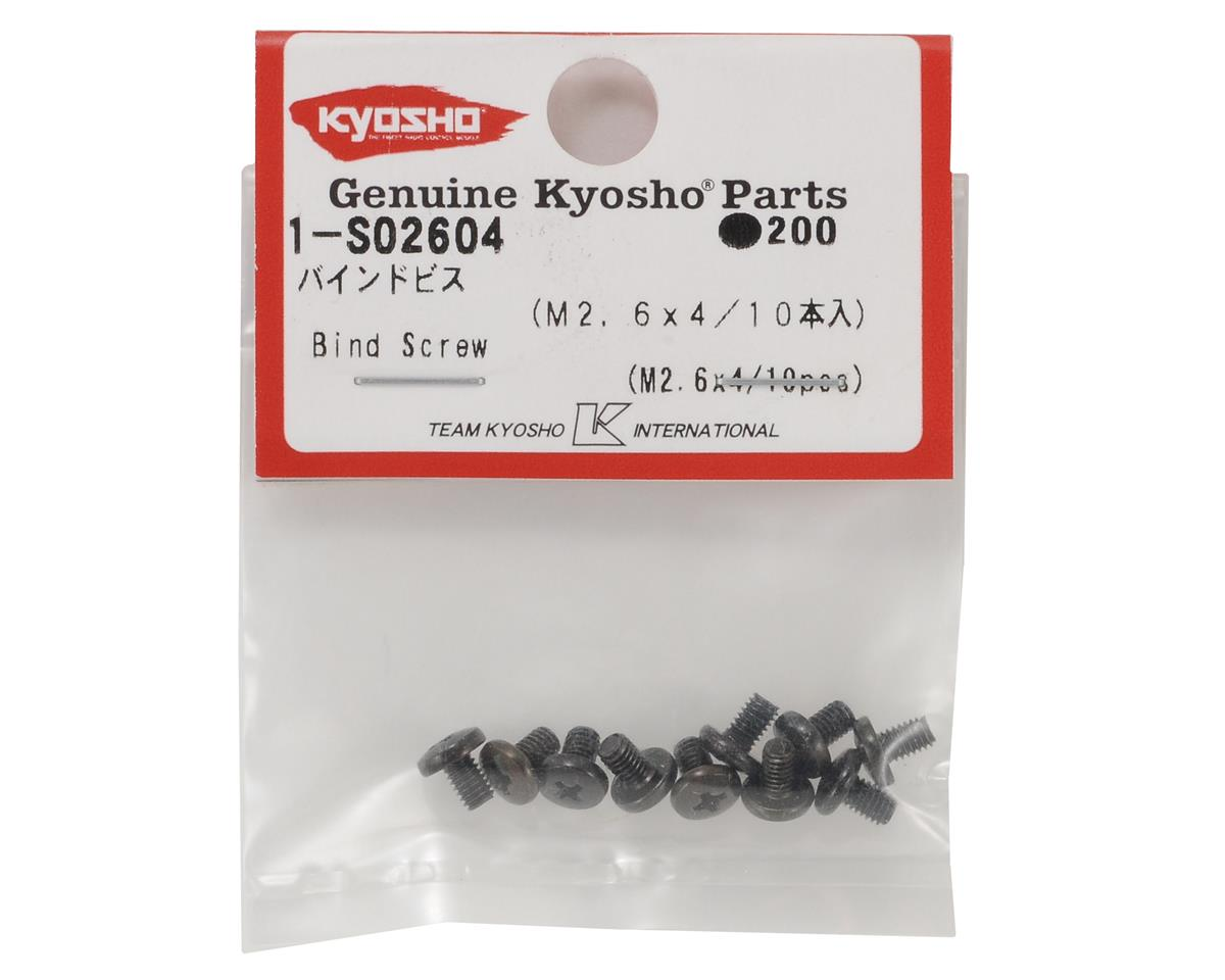 Kyosho 2.6x4mm Binder Head Screw (10)
