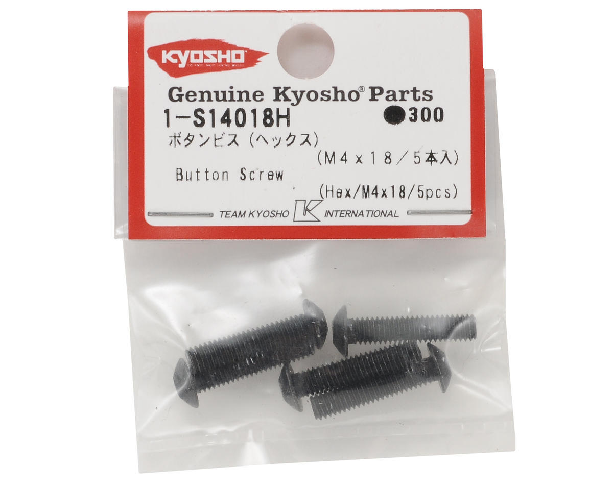Kyosho 4x18mm Button Head Screw (5)