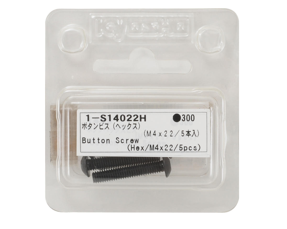 Kyosho 4x22mm Button Head Hex Screw (5)