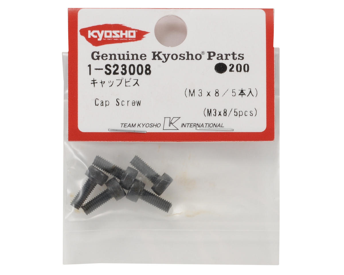 Kyosho 3x8mm Cap Head Screw (5)
