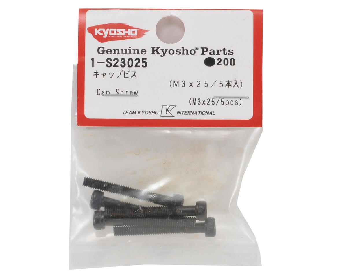 Kyosho 3x25mm Cap Head Screw (5)