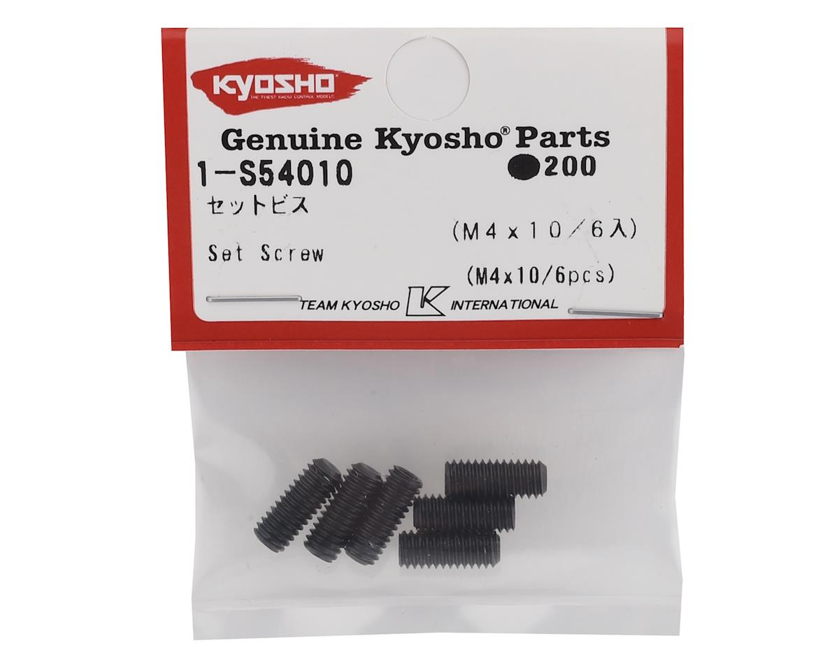 Kyosho 4x10mm Set Screw (6)