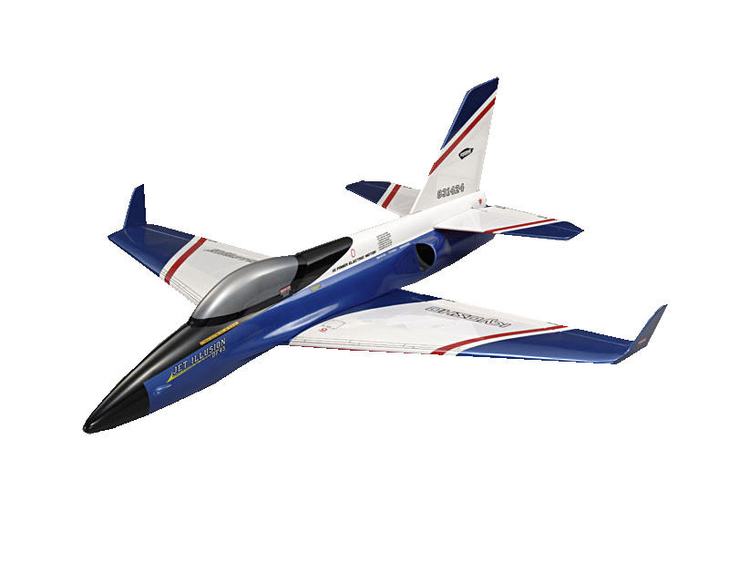 Kyosho EP Jet Illusion DF45 Ducted Fan Airplane (Blue)